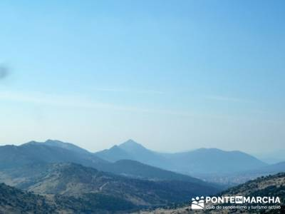 La sierra Oeste de Madrid. Puerto de la Cruz Verde, Robledo de Chavela, ermita de Navahonda. rutas s
